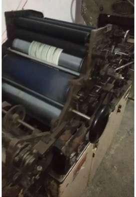 hamada 700 cd offset printing machine with cutting