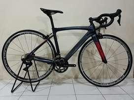 Sepeda balap roadbike pacific primum 5 full carbon 105 R7000 11 speed