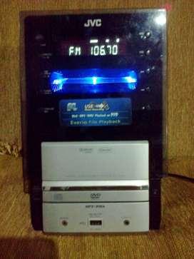 JVC Micro Hifi,USB,AUX, Radio digital, full ori, merk Japan