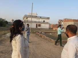 Raibareli road pr plot lene ka bahut hi achha avsar...new site launch