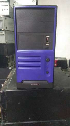 Core2duo cpu, 2gb ram, 320gb harddisk, 1gb graphics card, Home deliver