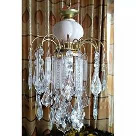 Lampu gantung hias simpel menarik