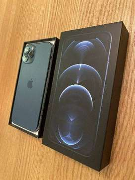 IPHONE 12 PRO MAX UNDER WARRANTY 256GB PACIFIC BLUE ON COD AND EMI