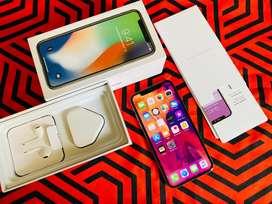 Iphone x 64 gb fullset