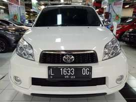 Toyota Rush S 1.5 MT Manual 2013 Putih KIKOMETER 31RB