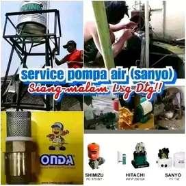 Jasa Service Pompa Air Jogja | Servis Sanyo Panggilan | Ahli Sumur Bor