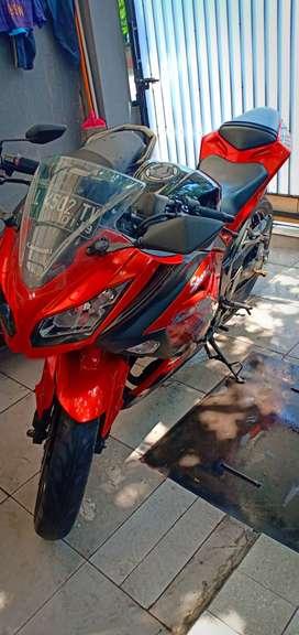 Ninja Orange 250 CC Special Edition