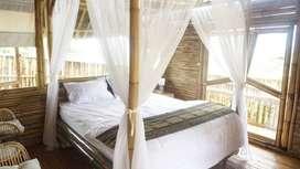 Villa Bambu Murah di Jonggol Kamar Premium Banyak BONUSnya
