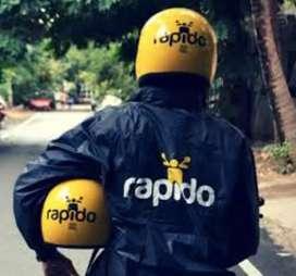 Rapido bike taxi job in Chandigarh