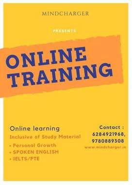 Online English language plus mind training