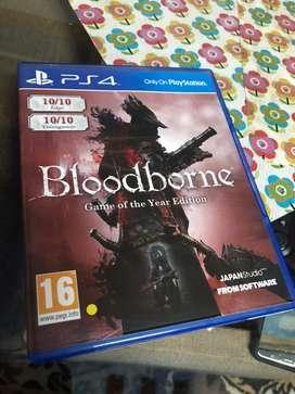 Bloodborne ps4 gane