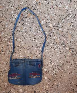 Bag  made of jeans