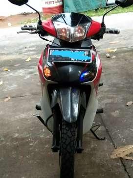Jual Honda Supra x 125(helm in)