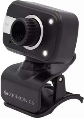 ZEBRONICS Crystal Clear  Webcam