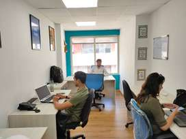 furnished office space on rent