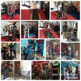 Pusat alat fitness Jateng DIY jual treadmill manual seri 2f,3f,5f&6f