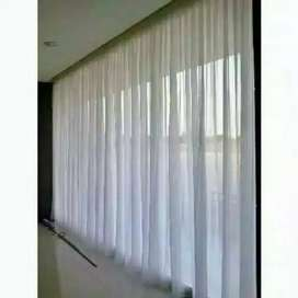 Promo pasang gorden vitrase blinds hordeng jendela020