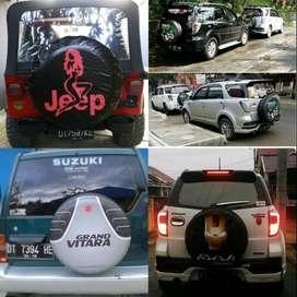 COVER Ban Terios Rush Escudo sarung ban crv jeep Oke dua empat  dijami