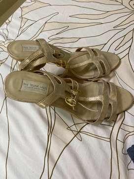 New gold heels