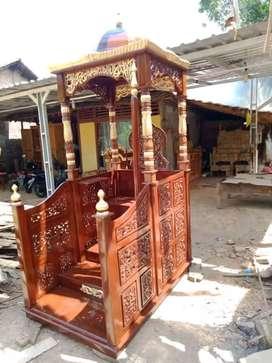 mimbar masjid kubah modern new