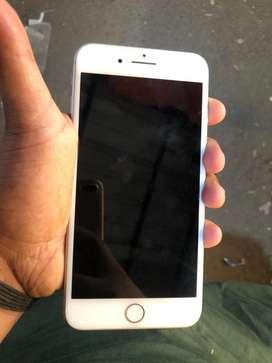 Iphone 8plus silver color 99% conditon