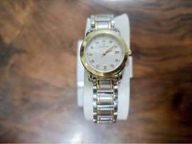 Original Bulova Sucess Time Brand New Swiss Two-tone watch with stones