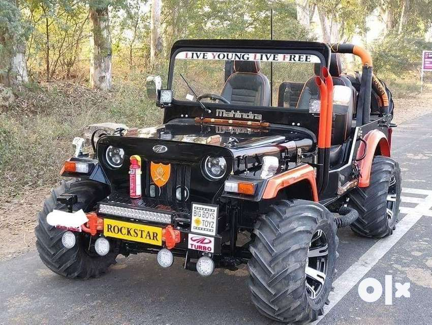 modified jeep fully off roading 0