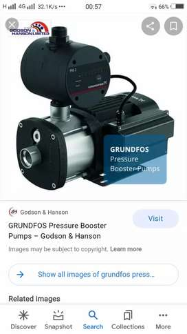 Granfost pressure pump motor original condition