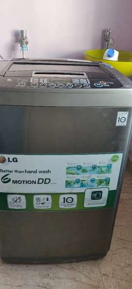 LG fully automatic top loading 6.5 kgs