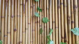 All types of bamboo work done from custom design