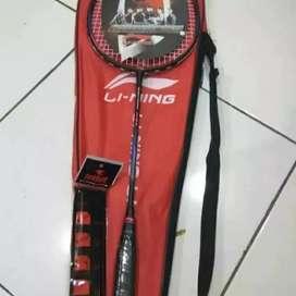 Raket lining badminton bulutangkis ngabuburit dirumah keringat sehat