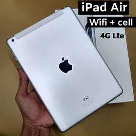 Ipad air 16gb wifi cellular second mulus Fullset