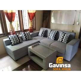 Premium Sofa L Putus, Bahan Favorit , Best Seller
