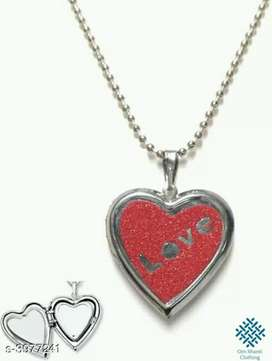 Valentine's Couple pendant & Chain