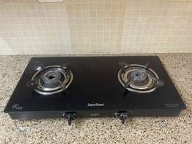Gas stove with two burners for sale