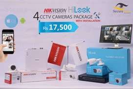 Hikvision Hi-Look Series 4 Cameras with 1 Year Services