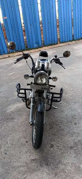 Royal Enfield Thunderbird BOSS(8055) number plate