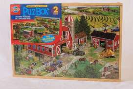 Wooden puzzle box import/mainan puzzle kayu dalam box