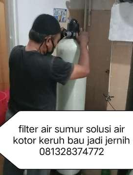 Filter air Sumur sukoharjo solusi penjernih air kotor keruh air warna