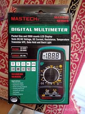 New Mastech MAS830L Digital multimeter