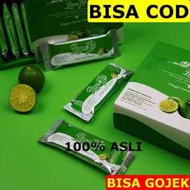 Serbuk Lemon Herbal Penurun Berat Badan Alami Halal