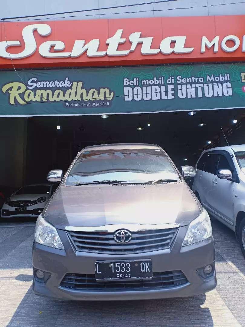 Toyota Innova 2.5 diesel E manual 2013 grey, ISTIMEWA kilometer 73 rb 0