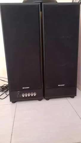 Jual murah speaker merk sharp