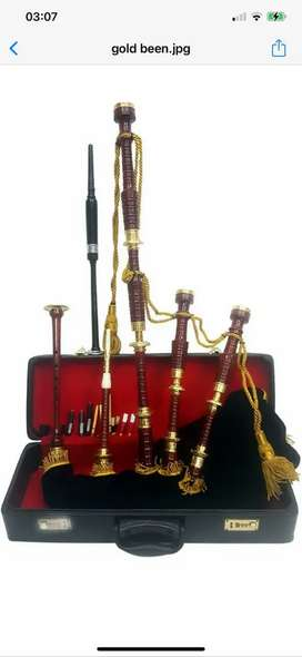 BAGPIPE GOLD / Roose wood bagpipe gold Amounts