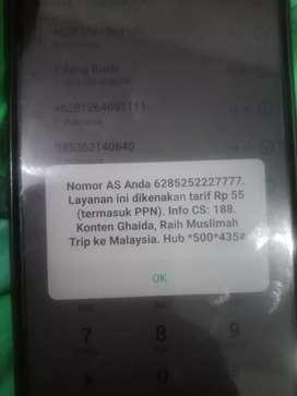 Nomor cantik telekomsel