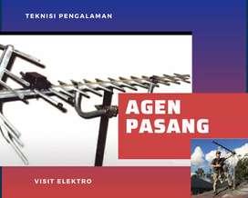 Instalasi Pemasangan Sinyal Antena Tv Bergaransi