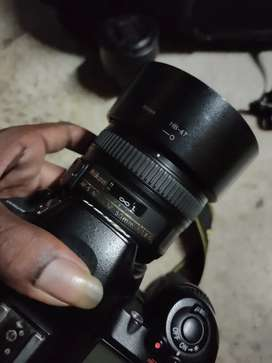 Sell 1.7 yr old nikon 7500, with bil box,charger, 18-55, 50 mm lens