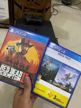 Red Dead Redemption 2, God Of War, Horizon PS 4