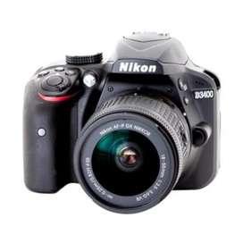 Dijual Kamera Nikon D3400 ( Bluetooth Transfer Photo)