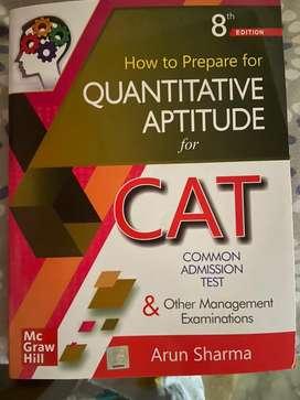 How to prepare for Quantitative Aptitude for cat by Arun Sharma